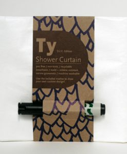 Cortina de ducha personalizable