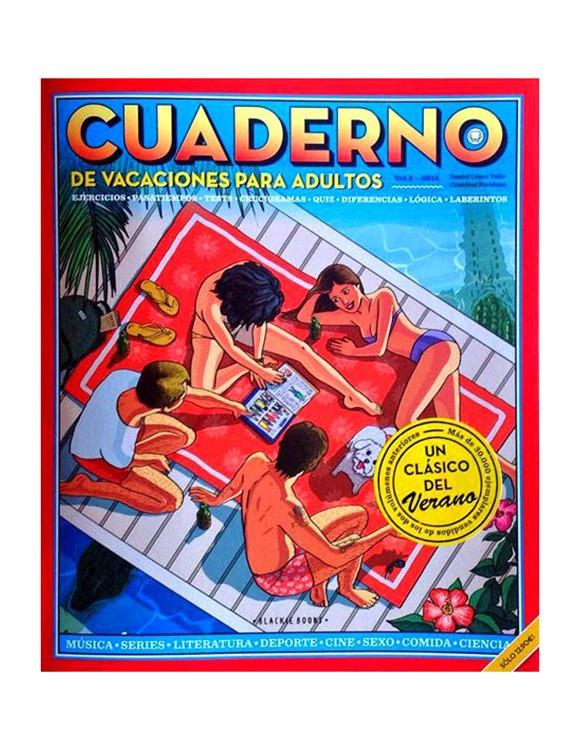 cuaderno de vacaciones para adultos vol. 3