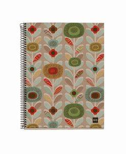Cuaderno Ecoflowers PAPEL RECICLADO