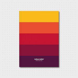 Cuaderno Paleta Colores Cálidos
