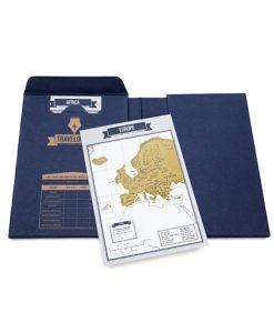 Cuaderno rascable para viajar