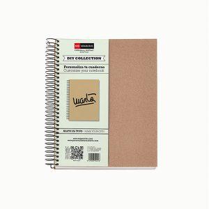 Cuaderno DIY Ecocraft PAPEL RECICLADO