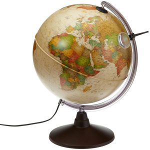 Bola del Mundo Vintage con luz Grande