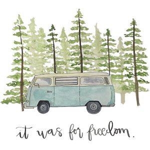 Blue Van
