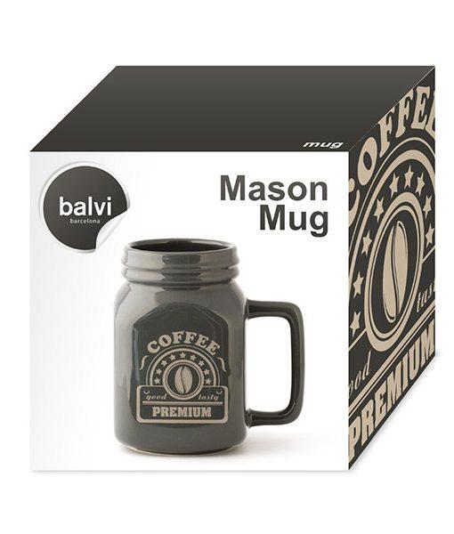 """Taza Bote """"Mason Mug"""""""