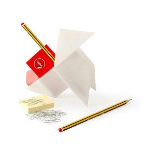 Organizador de Escritorio Pajarita Origami