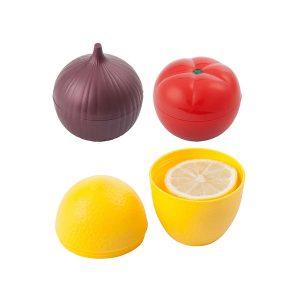 Guarda Cebolla Tomate y Limón para la Nevera