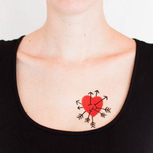 Tatuaje Heart Attack