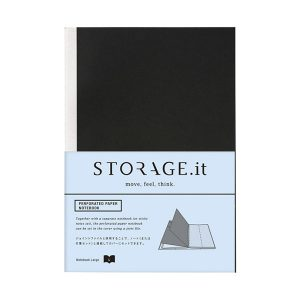 Recambio de hojas microperforadas para Cuaderno A5 Storage it