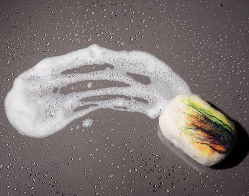 Jabón Cubierto de Lana