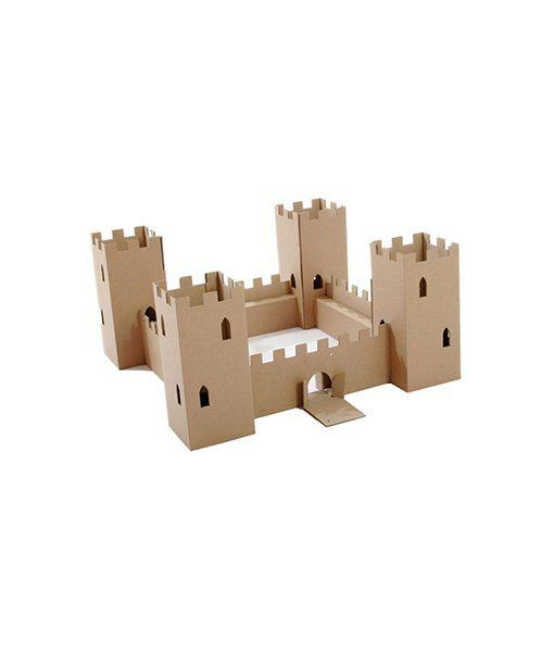 Castillo de Cartón Reciclado