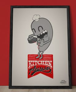 Ilustración Home Pleasures Kitchen