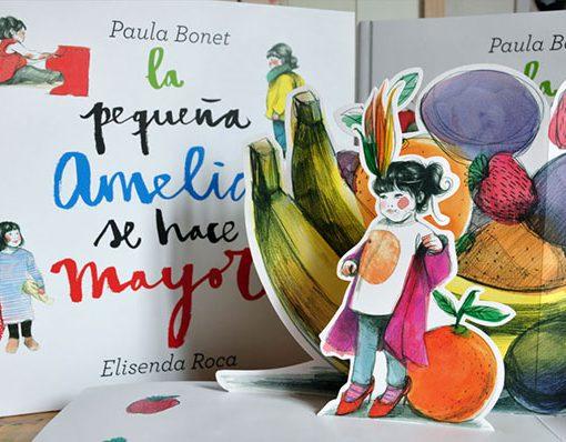 Paula Bonet Libro La pequeña Amelia se hace mayor
