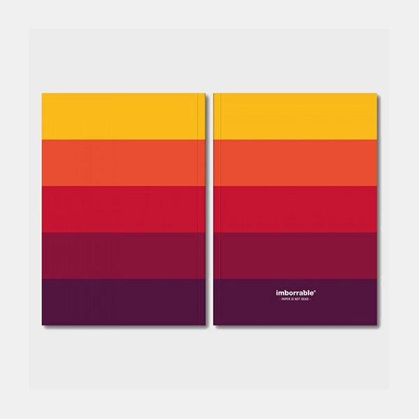 Cuaderno paleta colores papel fsc material revolution granada - Paleta de colores titanlux ...