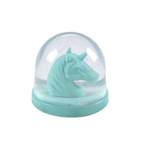Bola de Nieve Unicornio