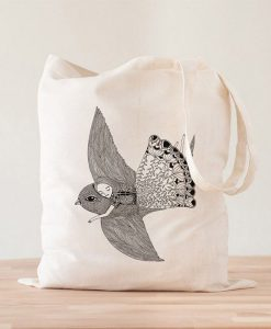 Tote Bag Fly Ilustración