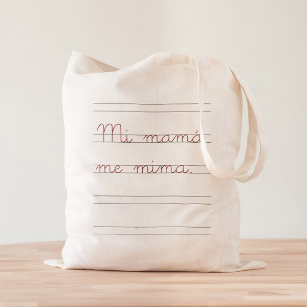Tote Bag Mi Mamá Me Mima