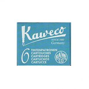 Cartuchos de Tinta Turquesa Kaweco