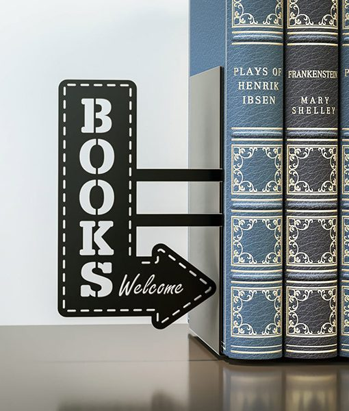 Sujetalibros Books Welcome Original