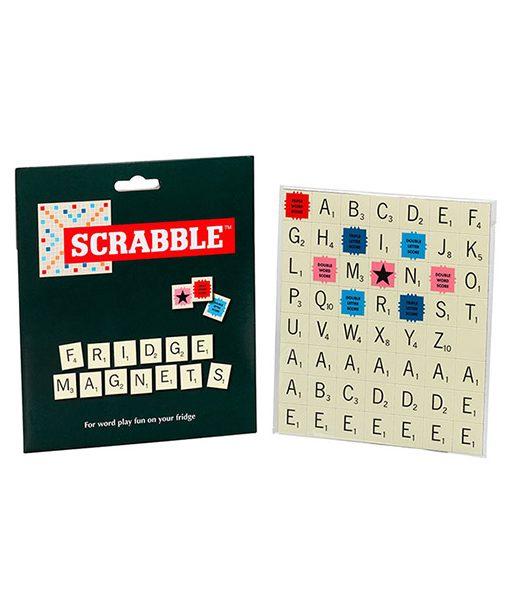 Imanes Letras Scrabble Color Crema