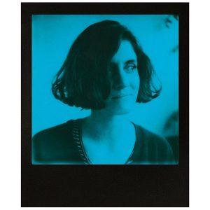 Película Blue 600 para Polaroid Con Marco Negro