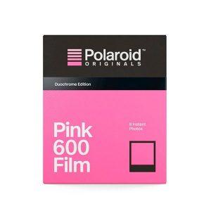 Película Pink 600 para Polaroid Con Marco Negro