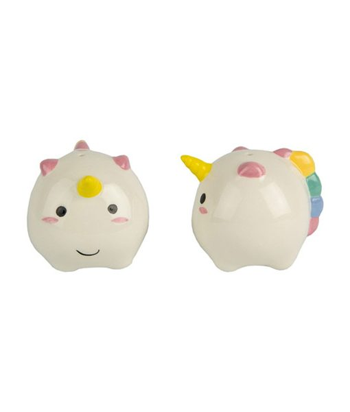 Set Sal y Pimienta Unicornio Kawaii