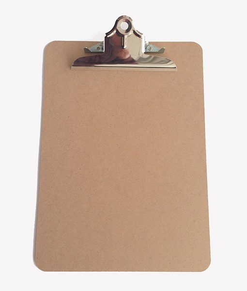 Clipboard Carpeta con Pinza