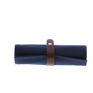 Estuche Roll Up Azul y Gris