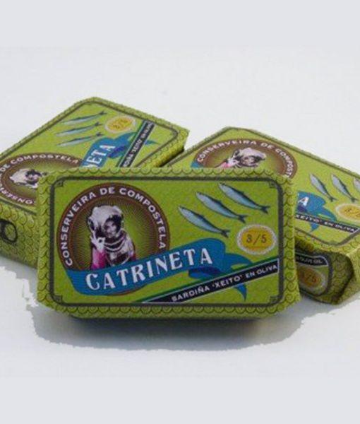 Sardinas en aceite de oliva Catrineta