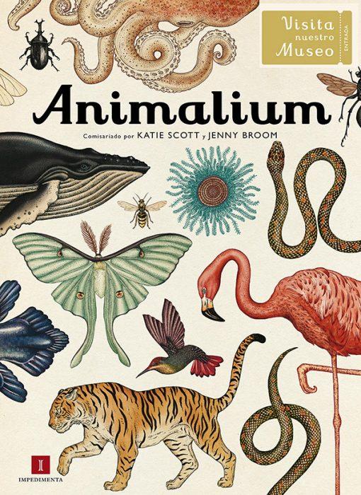 Libro Animalium en castellano de Katie Scott y Jenny Broom