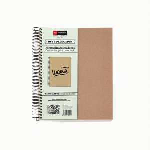 Cuaderno DIY Ecocraft PAPEL RECICLADO