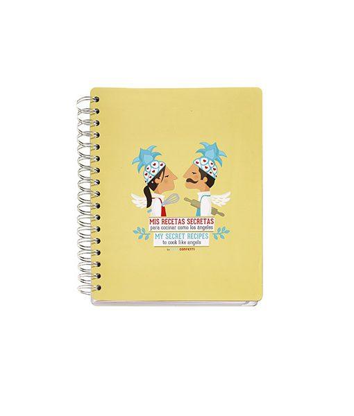 """Cuaderno de Recetas Tutticonfetti """"Mis Recetas Secretas"""""""