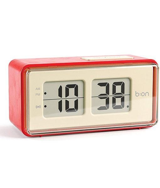 Reloj Despertador Vintage Retro Flip Rojo