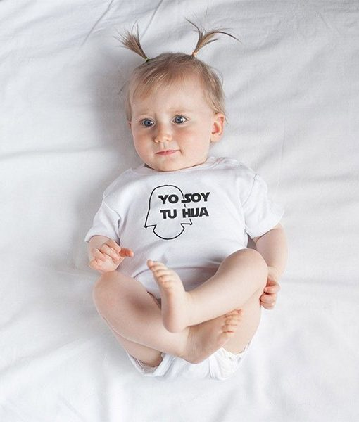 Body Bebé Yo soy tu hija Star Wars