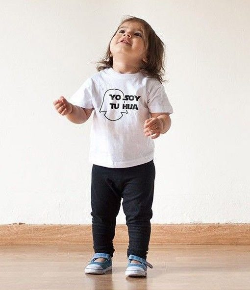 7c9cbeaf305 Camiseta Niña Yo soy tu hija 100% Algodón Material Revolution