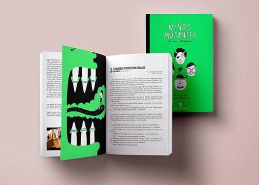 Libro de Lyona Niños Mutantes