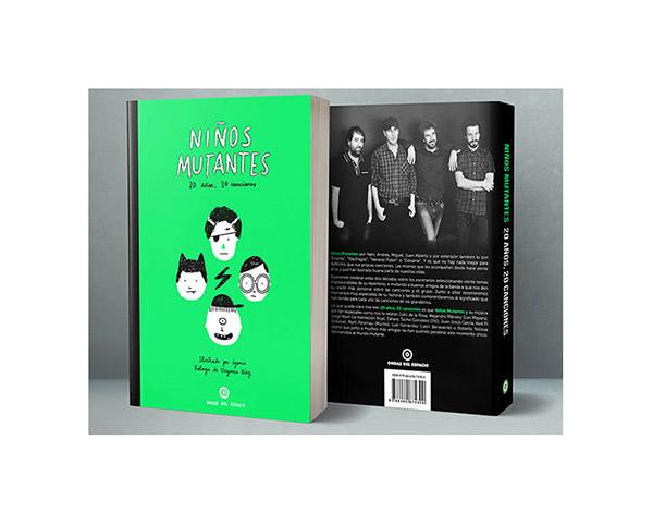 Libro Niños Mutantes 20 años 20 canciones