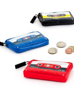 Monedero retro cassette de polipiel