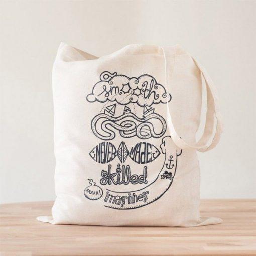 Tote Bag Smooth Sea