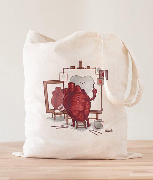 La Tote Bag Autorretrato Realista