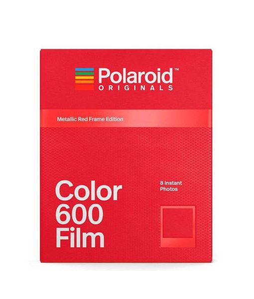 Película Color 600 Marco Rojo Metálico