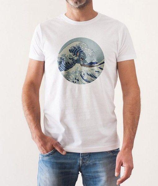 8accd86cffa Camiseta Hombre Stitch en Kanagawa100% Algodón Material Revolution