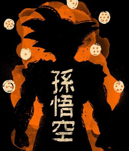 Imagen camiseta Goku