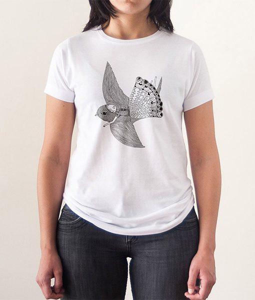 Camiseta Ilustración Fly