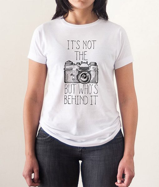 Camiseta Cámara de fotos