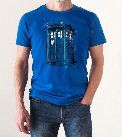 Camiseta Tardis Doctor Who Hombre