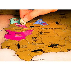 Scratch Map de España