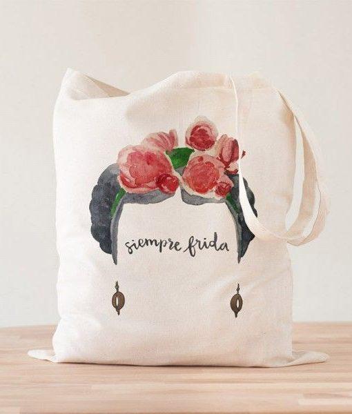 Tote Bag Siempre Frida Kahlo