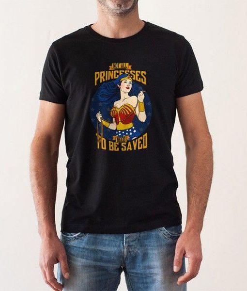 Camiseta Wonder Woman Hombre